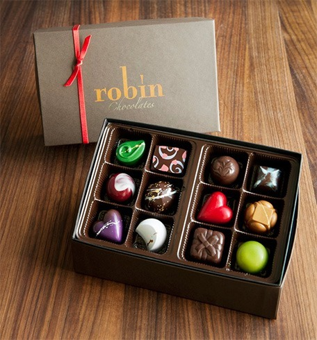 Robin Chocolates for Valentine